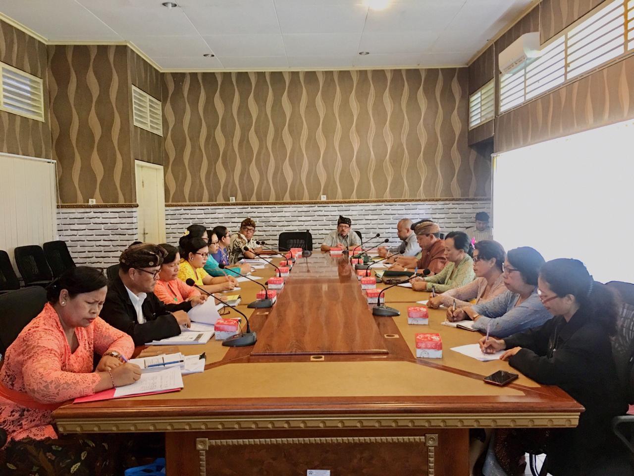Rapat Propemperda Bulan Oktober 2018